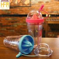 Wholesale Wholesale Plastic Cups For Coffee - Clear Plastic Water Cup Plastic Cups Cylinder Shape Plastic Water Lemon Cups For Home Coffee Dinning Bar Outdoor Use Gifts