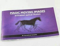 Wholesale Funny Image - Wholesale- Magic Moving Images: Animated optical illusions,Best Gift for Kids Funny, children magic, magic toy