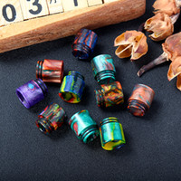 Wholesale top rda for sale - Group buy TFV8 Epoxy Resin Drip Tip Wide Bore drip tips for TFV8 TFV12 Top Refilling Sub ohm Tank Kennedy RDA Mod DHL