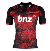 Wholesale 2017 Fashion Style New Zealand Home Shirts Crusaders Rugby Jersey Rugby Wear Sports Shirt Men Jerseys
