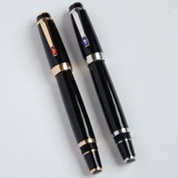 Wholesale BOHEMIA THICK BLACK AND GOLDEN SIER MONT ROLLER BALL PEN BEST DESIGN ORANGE LIGHT PURPLE GEM CRYSTAL SELECTIVE OFFICE GIFT