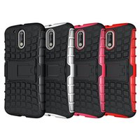 For Motorola spider play - For MOTO G4 Play Case Robot Hybrid Spider Armor Case Stand Tyre TPU Rubber Cover Case For MOTO G4 Play G4 Plus MOTO Z