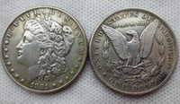 Hot Selling US Coins 1881-cc Morgan Dollar Promotion Preço barato da fábrica nice home Accessories Silver Coins