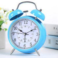 Wholesale Table Alarm Clocks Sale - Hot Sale Metal Double Bell Alarm Clock Backlight Desktop Clock Table Clocks Service For Children Despertador Relogio De Mesa