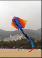 Wholesale Fish Parts - 2017 new 14M Large 3D Kites models Original Software kite Devil fish large kite