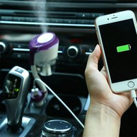 50ML USB Car Air Humidifier Car Charger Fresco refrescante Fragrance ehicular Essential Steam Humidifier Air Purifier humidifier oil diffuser