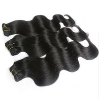 Wholesale Eurasian Natural Wave - 2017 hot selling unprocessed eurasian virgin hair body wave 3pcs lot hair extension free shedding hair products