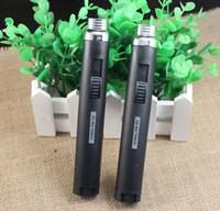 Wholesale Fuel Portable - portable Metal&plastic Jet Pencil Torch Butane Gas Lighter 902 Mini Jet Pen Style Butane Jet Torch Fuel Welding Soldering Lighters 25pcs lot