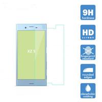 xperia z film al por mayor-Protector de pantalla de cristal templado de calidad superior para Sony XZ / XZ S / XZ Permium Toughened Film protector con paquete al por menor