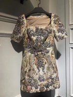 Wholesale Super Sexy Club Clothes - 2017 new arrival fashion women super beautiful rhinestone Embroidery Luxury party evening one piece dress, women one piece dress clothes