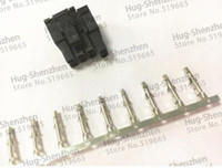 Wholesale Terminal Connector Pins - 30X ATX EPS PCI-E GPU 4.2mm 5557 8pin (6+2) Pin 6+2pin male Power Connector Housing Plastic Shell with 800pcs 5557 Terminal pin