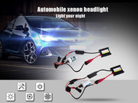 Wholesale Xenon 55w Ballast - Waterproof 2PCS 12V 55W 6000K Universal Automobile Headlight Headlamp Slim DC230 Ballast Kit Xenon Bulbs 9005   HB3   H10 200262001