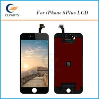 Wholesale High Top Dhl - Top High Quality LCD Screen For iPhone 6 plus 5.5 inch LCD Display with Touch Screen Digitizer Panels Assembly DHL Free Shipping