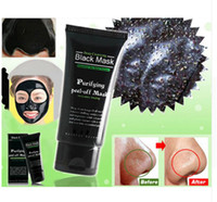 Wholesale Whiten Pearl Cream - Blackhead Remove Facial Masks Deep Cleansing Purifying Peel Off Black Nud Facail Face black Mask For free shipping by dhl