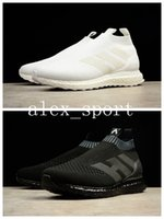 Wholesale Shoe Anklets - 2017 ACE 16+ Pure Control Ultra Boost Triple Black Triple White Running Shoes Anklet Trainer Breathable Outdoor Sports Sneakers Shoes