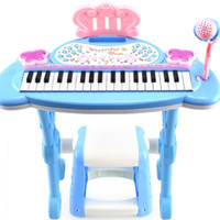 Wholesale Electronic Piano Organ - Electronic Organ For Kids Electronic Keyboard Organ With A Microphone Musical Piano Children Piano Baby Toys Birthday Gift