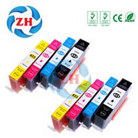 Wholesale Deskjet Cartridges - 8 X Ink Cartridges 655XL Compatible For HP655 hp655 hp 655 HP 655 HP Deskjet 3525 4615 4625 5525 6520 6525 6625 Printer