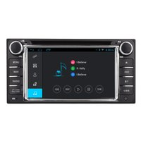 Wholesale Toyota Vios Gps Dvd - Navirider 2GB RAM QUAD CORE Android6.0 Car DVD player for TOYOTA rav4 vios prado lc100 radio stereo head unit GPS navi 4g lite tape recorder
