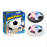 Enfants Air Power Football Football Sport Jouets Enfants Formation Football Indoor Outdoor Hover Ball Foam Pare-chocs LED Light b937
