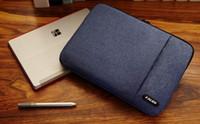 macbook 14 inç dizüstü toptan satış-Erkekler Kadınlar Çanta Laptop Kol Çantası kapak için su geçirmez Crushproof 8,10,11,12,13,14,15.6 inç Dizüstü Bilgisayar Laptop Çanta