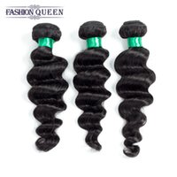 Wholesale Unprocessed Virgin Malaysian Loose Wave - Wholesale 8A Brazilian Loose Wave Hair Products Unprocessed Human Hair Weave Virgin Malaysian Loose Hair Extensions Dyeable Natural Color