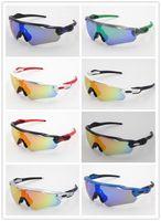 ingrosso bicicletta a cavallo-2018 Nuovo di Zecca Radar EV Pitch occhiali da sole Polarizzati rivestimento occhiali da sole per le donne degli uomini occhiali da sole sportivi equitazione occhiali Ciclismo occhiali uv400