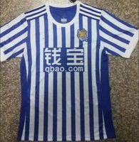 Wholesale Guaranteed Best Quality - quality guarantee Best Quality 2017 2018 Royal Society Home Away Soccer Jersey Free Ultra Fast Delivery