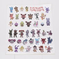 Wholesale Cupcakes Party Favors - FNAF Five Nights at Freddy's Party Favors characters Sticker Freddy Chica Bonnie Cupcakes Baby Ballora Funtime Freddy motivational stickers