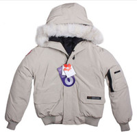 Wholesale Khaki Fur Jacket - NEW 2017 outdoor Down & Parkas women's upset down jacket