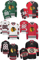 Wholesale Cheap Ice Coolers - 2016 Wholesale MENS CHICAGO BLACKHAWKS 88 PATRICK KANE Cheap Cool uniforms 100% STITCHED TOP QUALITY ICE HOCKEY JERSEYS HOT SALE