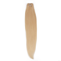 Wholesale Silky Straight Remy Blonde Weave - Silk Silky Straight Hair Extension Remy Human Hair Weave 613 Blonde Thick No Split Ends Brazilian Virgin Hair Bundles Free Shipping 9A