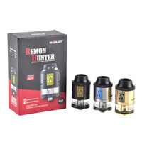 Wholesale gold rebuildable mods resale online - HOT Original Smokjoy Demon Hunter RDTA Rebuildable Drip Atomizer ml Airflow Control Tank For Thread Mods free DHL