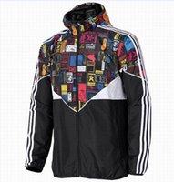 Wholesale Hottest New Trends - Fall-Hot ! New Men Jacket Spring Autumn Patchwork Reflective silm Jacket Sport Hip Hop Outdoor Waterproof Windbreaker Men Coat Trend Brand