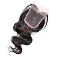 prix fermetures en dentelle brésilienne achat en gros de-Nouveau Arrial Produit préféré vente chaude pas cher prix cheveux lace fermeture 100% cheveux humains brésiliens pas enchevêtrement pas de perte GS331168