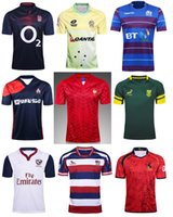 Wholesale National Africa - rugby shirt men South Africa Australia Spain England Scotland Japan Malaysia USA United States national team France rugby football jerseys