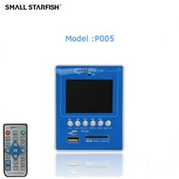 Mp5 Bord Kaufen -Großhandel- 2,4 Zoll TFT Bildschirm HD Auto MP5 Player USB / SD MP5 Decoder Board Stereo Audio Receiver High-Definition Media Player P005