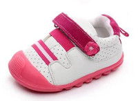 Wholesale Shose Girls - baby girls shoes tennis mesh shose baby boys shoes running shoes sport chaussure bebe sapatos zapatos first walker