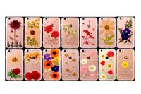 Wholesale Dried Petals - Women's Pretty Genuine Dried Flowers DIY Case Clear TPU Soft Handmade Natural Petal cover for iphone 6 6s plus 7 7 plus 150 Designs