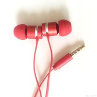 Wholesale Cell Phone Storage Boxes - UR Earphone Wired Earphone Earbuds In-ear With Mic Volume control with Zipper bag earcap Storage bag With Box