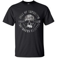 Wholesale Bikers T Shirts - Sons Of Arthritis t shirt men Biker Motorcycle Summer funny Gift printed tee s-3xl