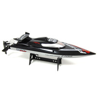 Wholesale Rc Boat Upgrades - Wholesale- Hot Sale New FT012 Upgraded FT009 2.4G Brushless RC Remote Control Racing Boat Toy
