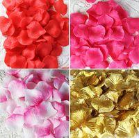 ingrosso fiori viola decorativi di fiori-Silk Rose Petals Wedding Artificial Flowers Purple White Rose Petals Wreath Decorative Crafts Party Supplies Fidanzamento Celebrazione Wholesal