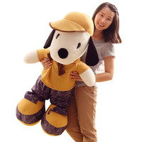Wholesale Plush Snoopy Dog - Extra-large snoopy puppy doll boy's or girl's birthday gift and it is a cuddly toy dog doll