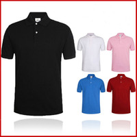 Wholesale Drop Shipping Shirts - Wholesale-2017 Summer Hot Sale Polo Shirt Brand Polos Men Short Sleeve Sport Polo Man Coat Drop Free Shipping