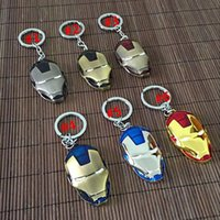 Promotion blister package products - Keychains Avenger Alliance Iron Man Keychain Zinc alloy key chain hot products Fashion Accessories Blister cardboard packaging