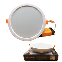 Super brillante Dimmable Led empotrable Downlights lámpara 7W 16W 24W 32W llevó las luces de techo caliente / Naturaleza / frío blanco AC 110-240V