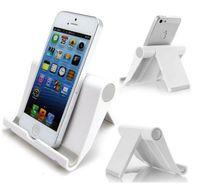 taşınabilir masaüstü standı toptan satış-Üç renkli masaüstü evrensel katlanır cep telefonu standı Tablet PC Evrensel stent taşınabilir tembel stent ücretsiz kargo