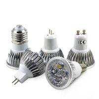 bombilla led e14 cree 5w al por mayor-CREE llevó bombillas 4W 5W regulable GU10 MR16 E27 E14 GU5.3 B22 llevó la luz del punto led downlight
