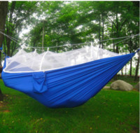 Wholesale Backpacking Tents Sale - free shipping mosquito net hammock Double personal Outdoor camping Air tents 260*140CM Family Camping Tents hot sales