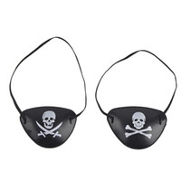 Wholesale halloween kids crafts - Pirate Eye Patch Skull Crossbone Halloween Party Favor Bag Costume Kids Halloween Toy Craft Gifts Wholesale 0708075